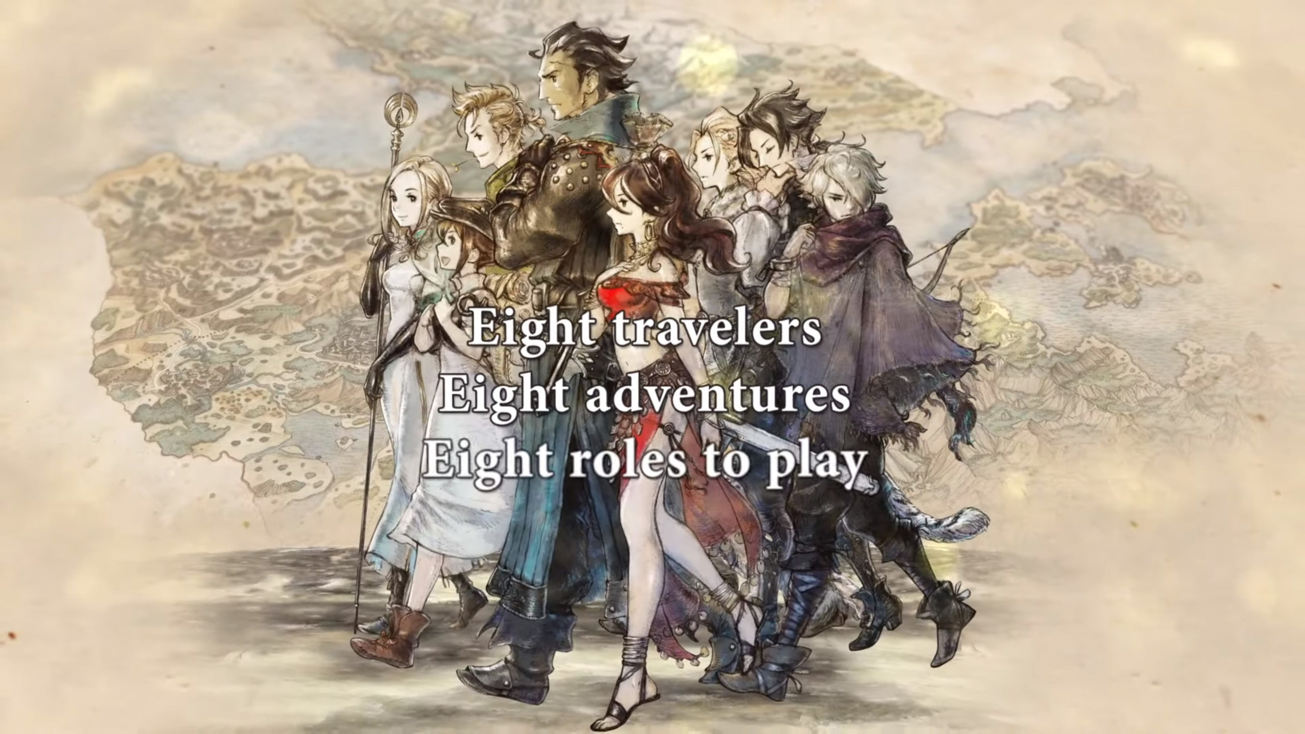 Octopath Traveler - cover