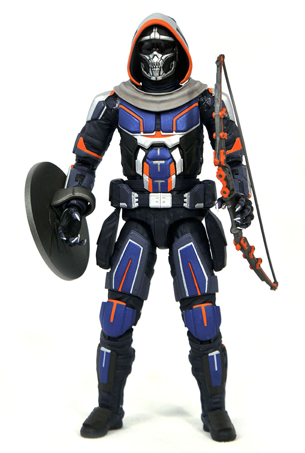 Marvel Select MCU Taskmaster action figure with bow