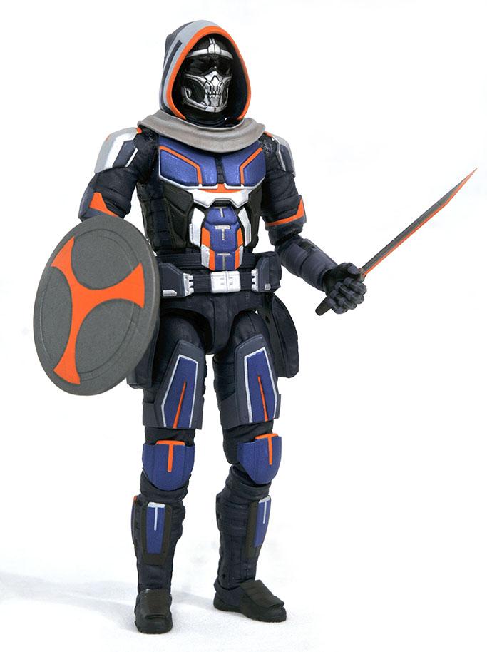 Marvel Select MCU Taskmaster action figure with sword & shield