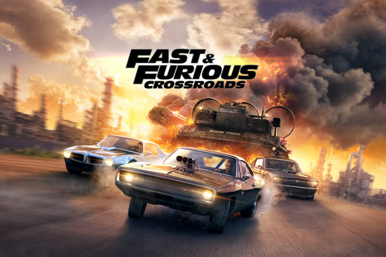 Fast & Furious Crossroads - key art