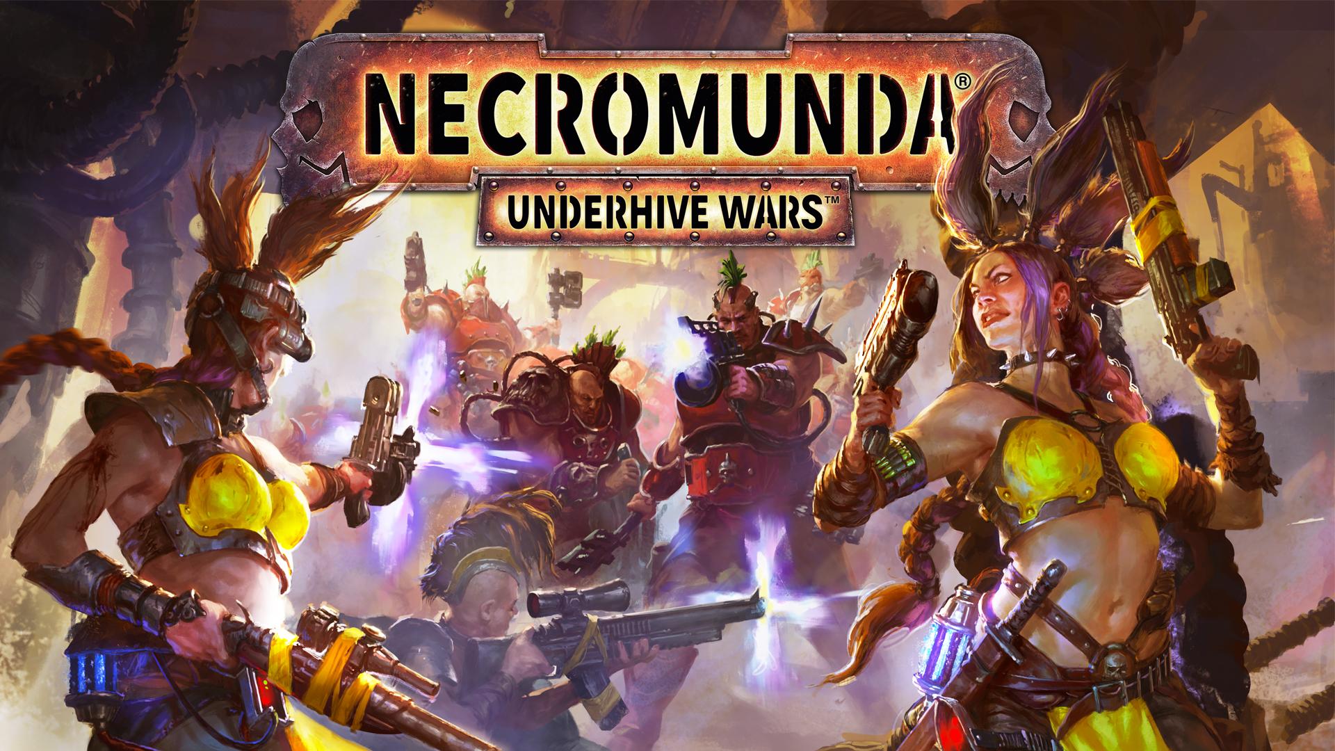 Necromunda: Underhive Wars - cover