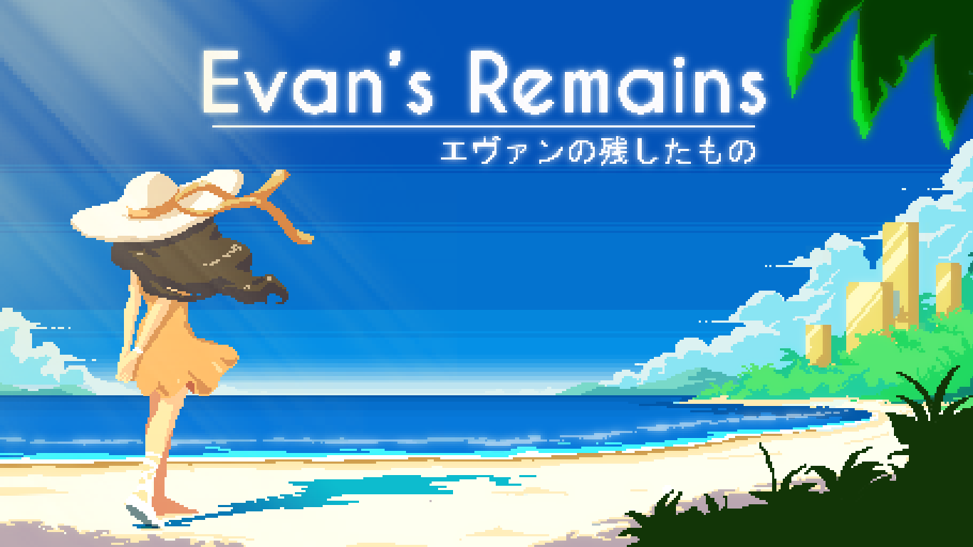 Evan's Remains = title screen