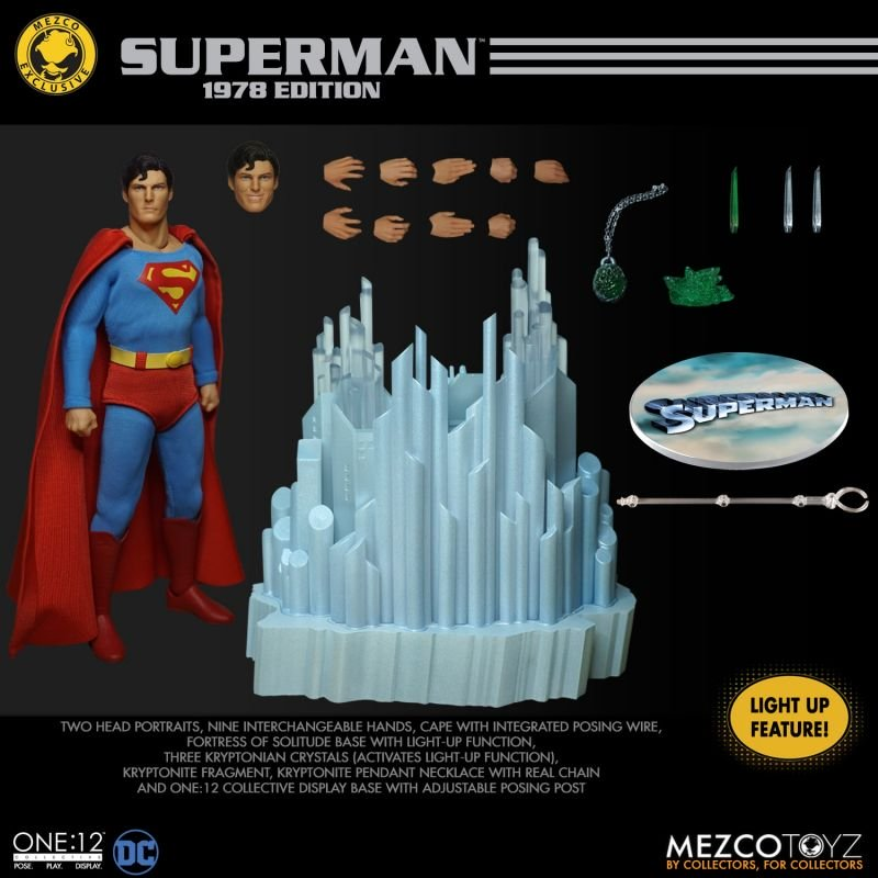 MezcoOne12 Superman1978 16