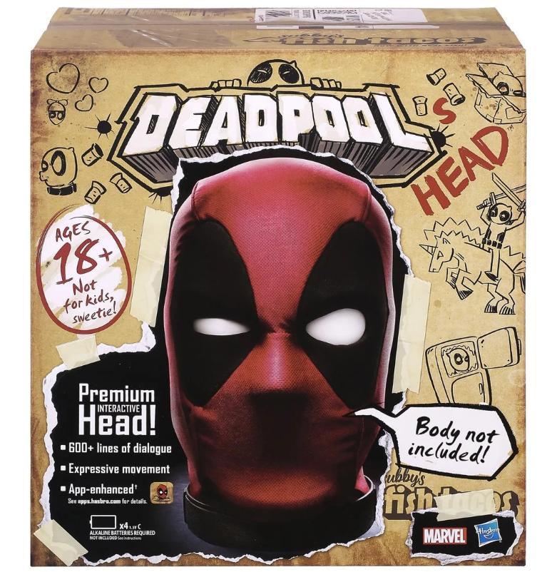 Hasbro Deadpool Head 2