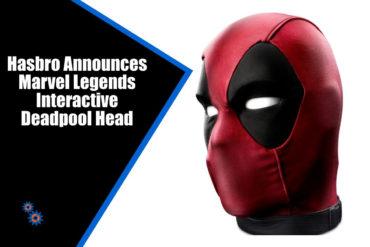 Marvel Legends Deadpool Head Feature
