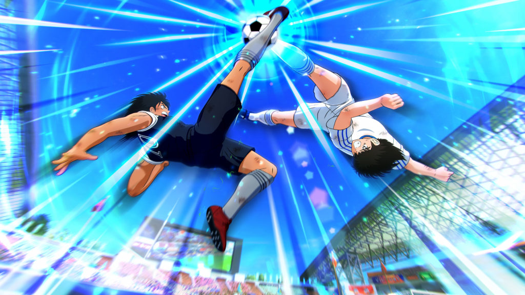 Captain Tsubasa: Rise of New Champions - face-off