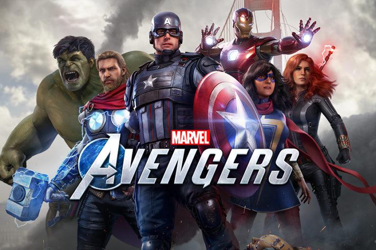 Marvel's Avengers - key art