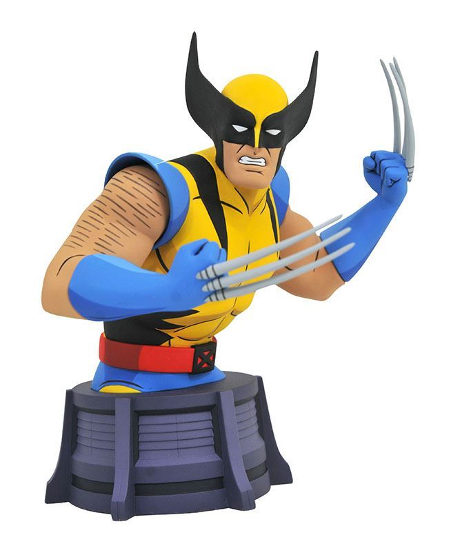 0005569 marvel animated x men wolverine bust