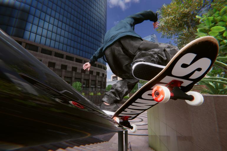 Skater XL - Crooks grind