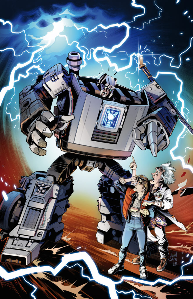 Transformers Back to the Future Cover A by Juan Samu