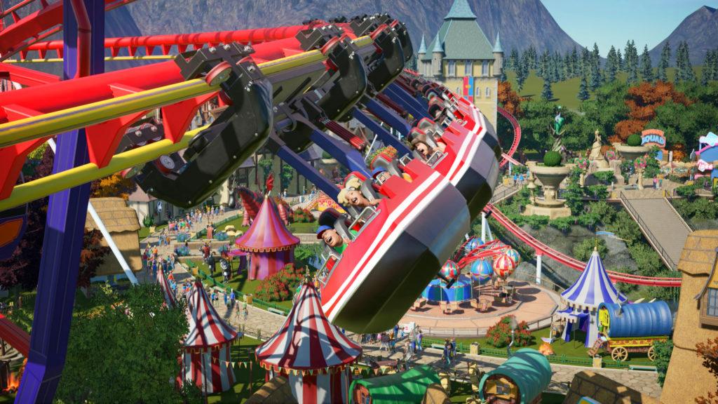 Planet Coaster - rides