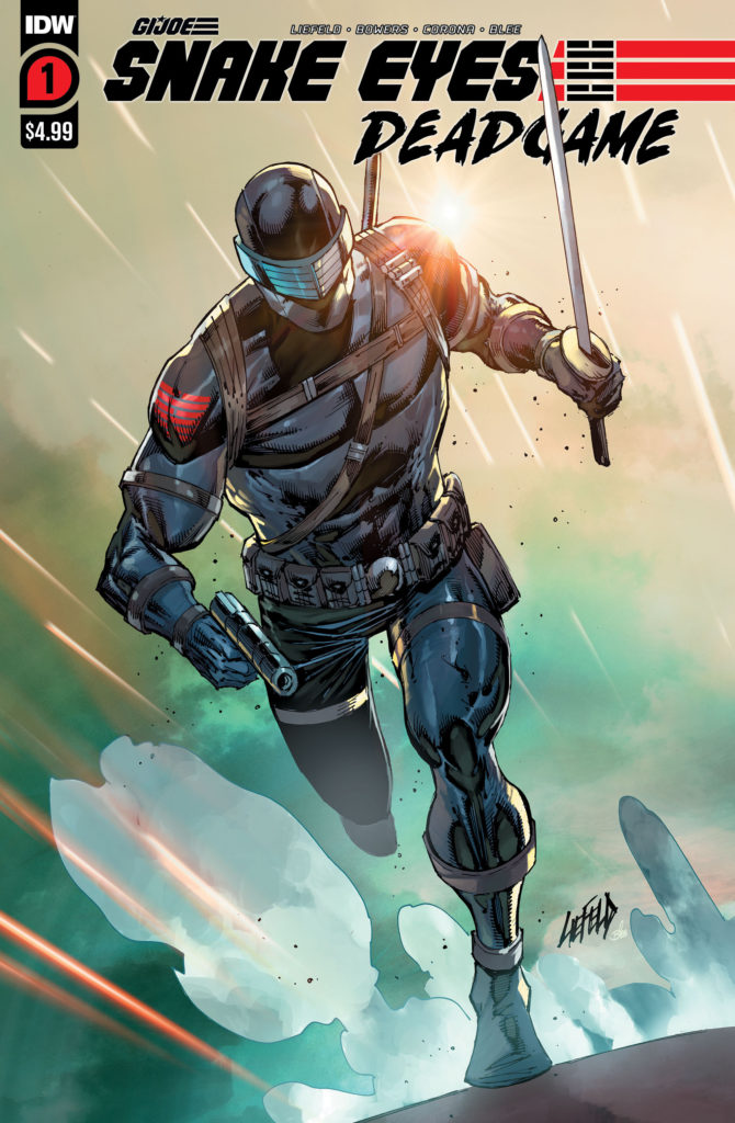 Snake Eyes: Deadgame #1 by Rob Liefeld for IDW