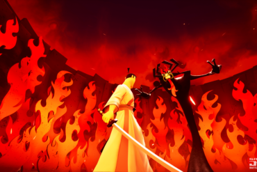 Samurai Jack: Battle Through Time - final battle?