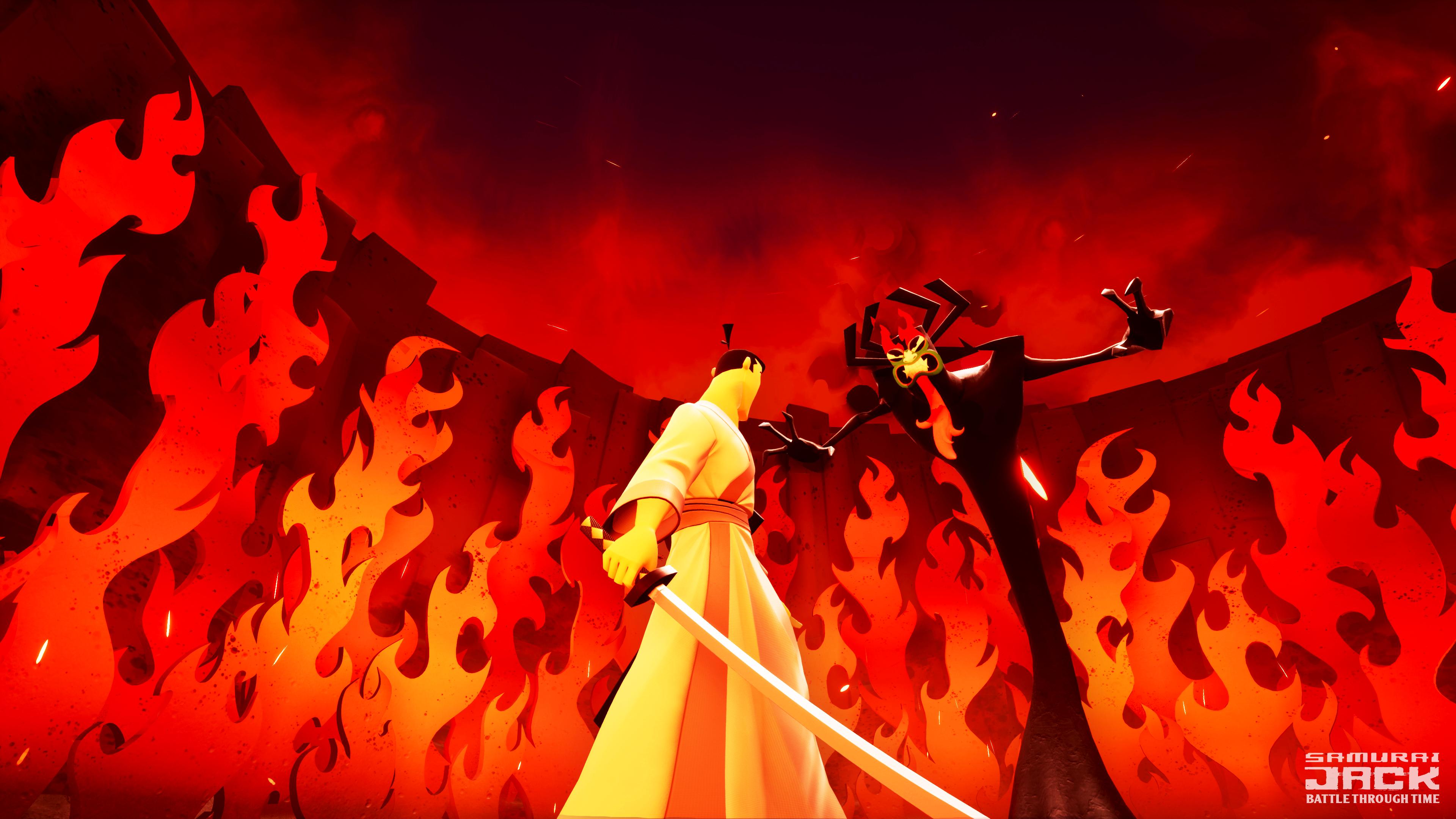 Samurai Jack: Battle Through Time - final battle?