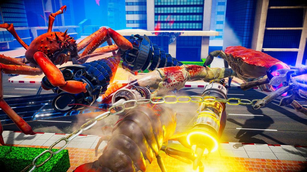 Fight Crab - city battle