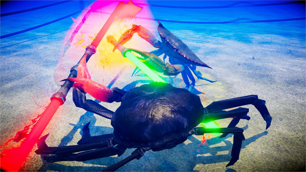 Fight Crab - Lightsabers