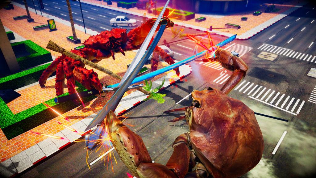 Fight Crab - CQC