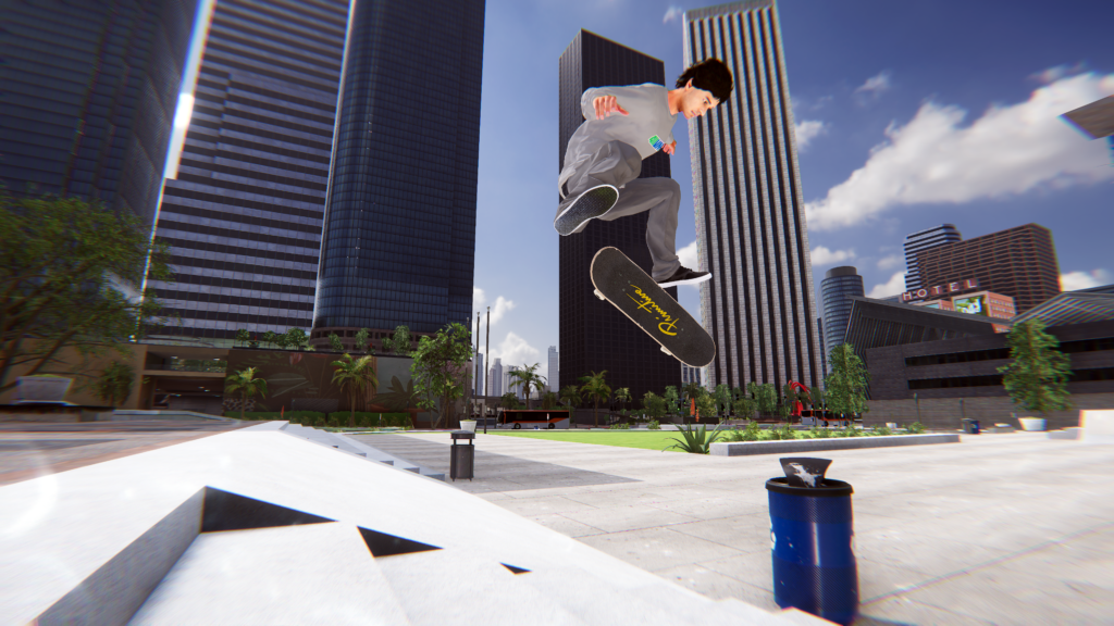 Skater XL - Nollie Heel