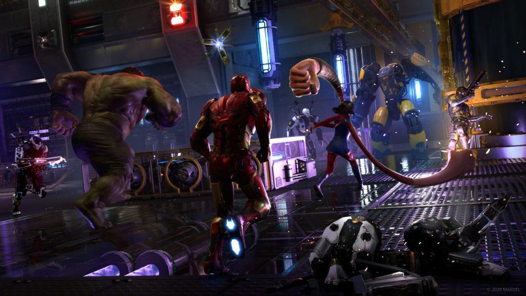 Marvel's Avengers - co-op combat