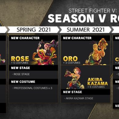 Street Fighter V - Summer 2020 roadmap