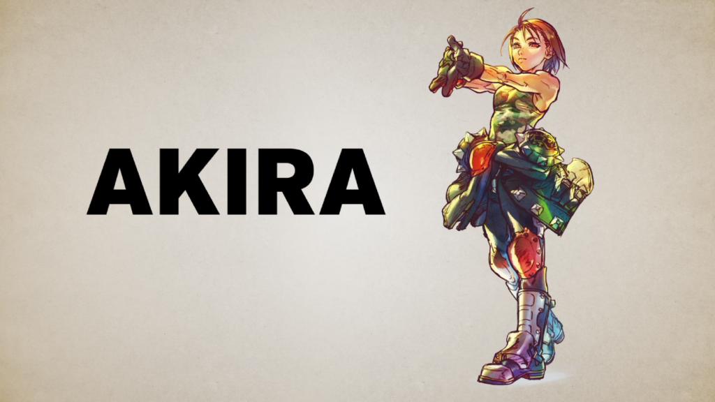 Street Fighter V - Akira