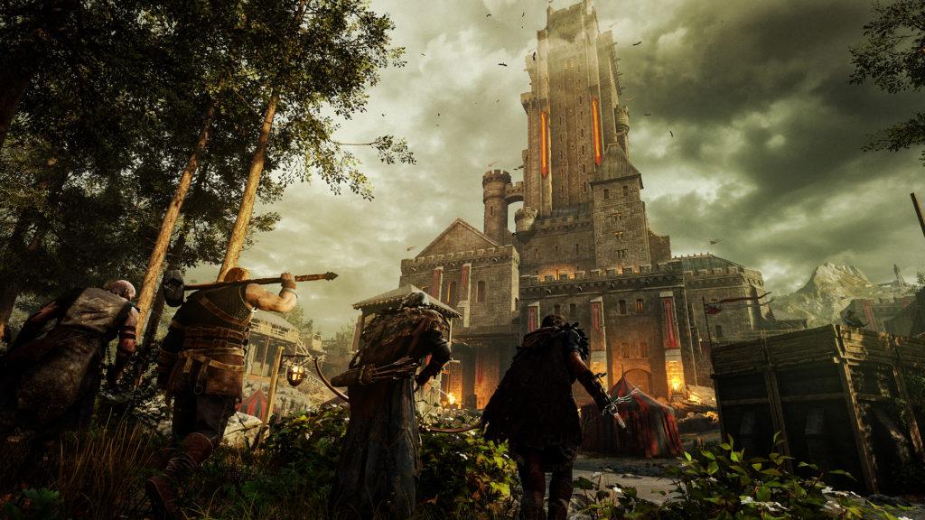 Hood Outlaws & Legends - castle approach