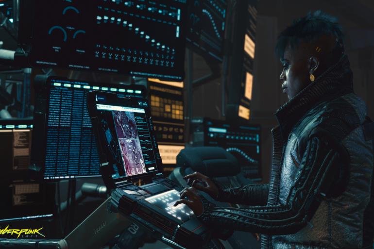 Cyberpunk 2077 - Running the show