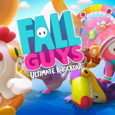Fall Guys - title screen