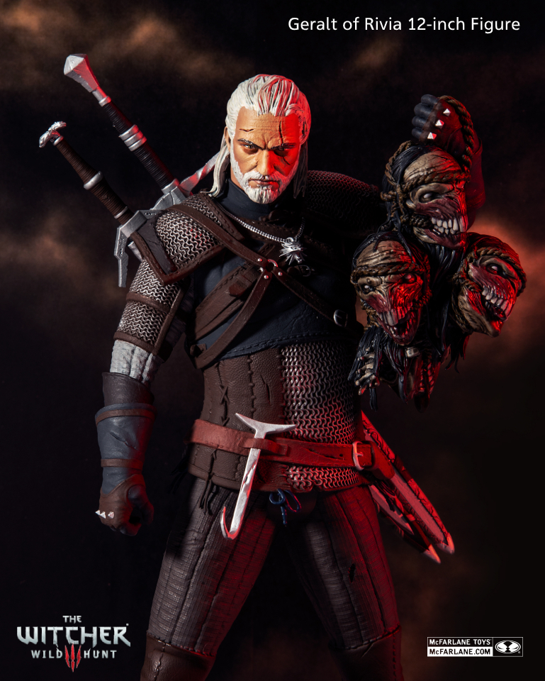 Geralt of Rivia Witcher McFarlane Toys