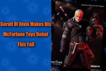 Geralt Witcher McFarlane Toys Feature
