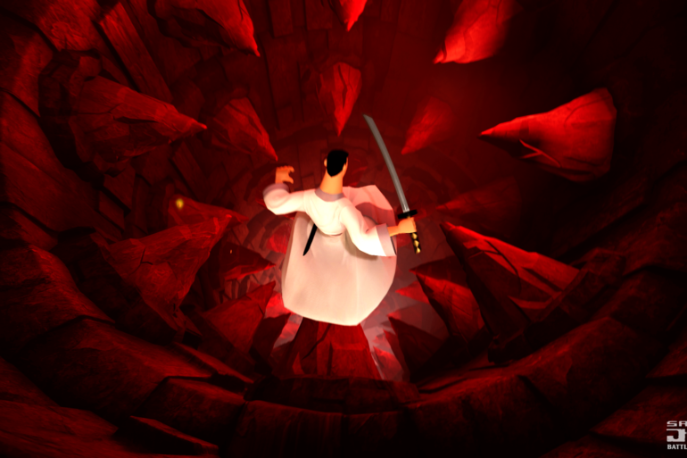 Samurai Jack: Battle Through Time - cave