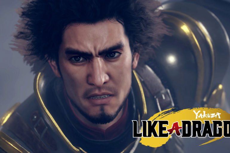 Yakuza: Like a Dragon - cover