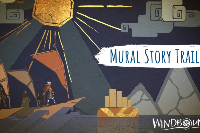 Windbound - Mural cover