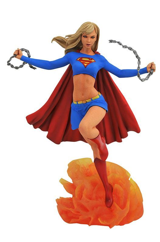 0005103 dc comic gallery supergirl pvc diorama