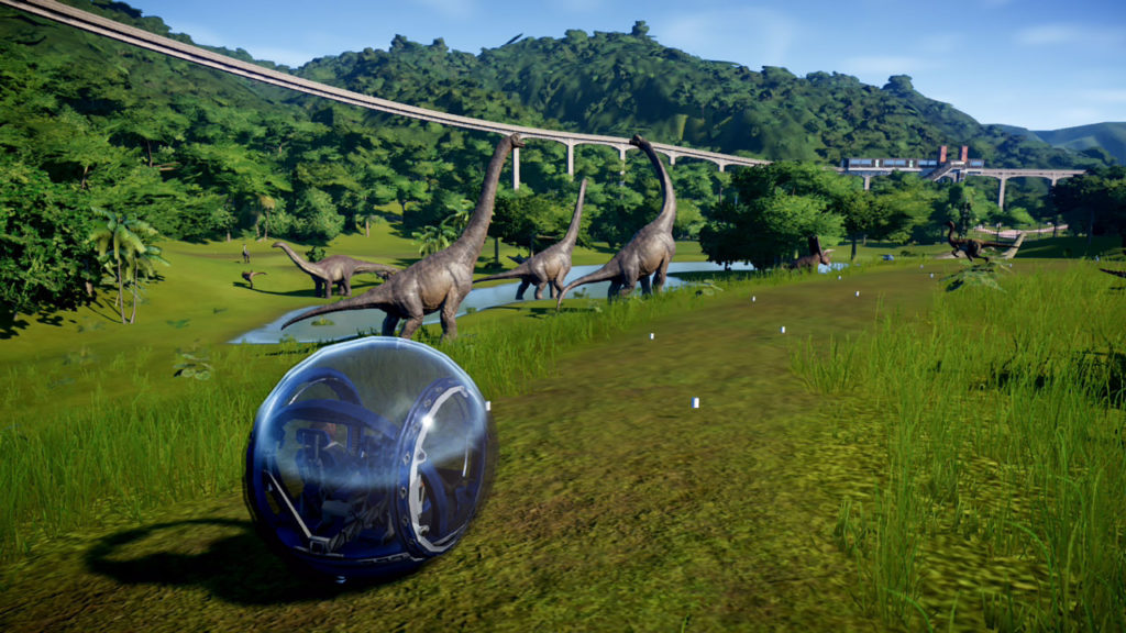 Jurassic World Evolution: Complete Edition - exploration