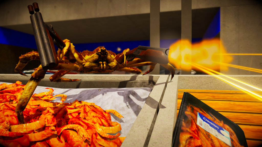 Fight Crab = Crab Fire!