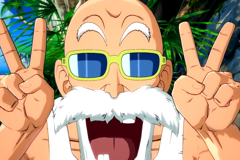 DRAGONBALL FighterZ %E2%80%93 Master Roshi Announcement Trailer 00 00 52