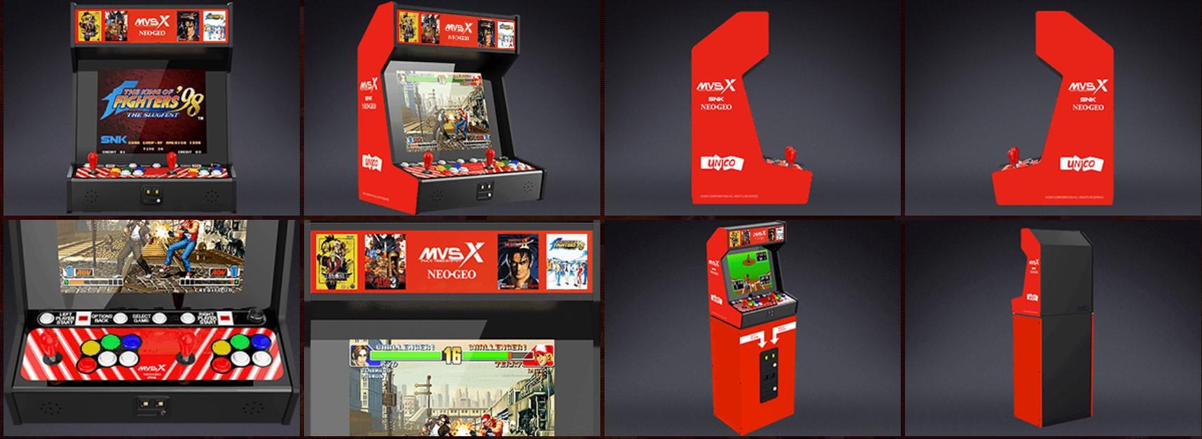 SNK NEOGEO MVSX - collage
