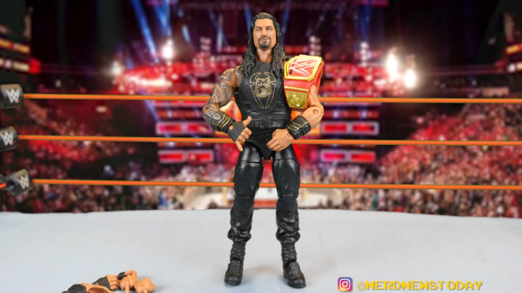 WWE Elite 79 Roman Reigns Long Hair