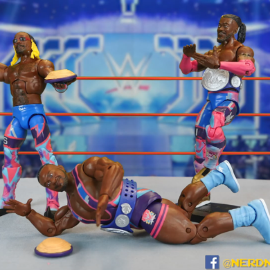 WWE Elite 78 79 New Day Figures Review Kofi Big E Xavier Woods 00 14 22