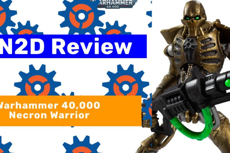 Necron Warrior NN2D Feature