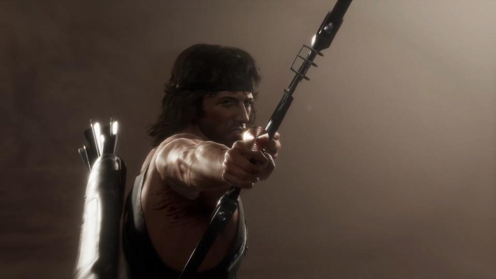Mortal Kombat 11 Ultimate   Official Rambo Gameplay Trailer 00 01 32