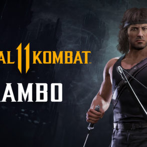 Mortal Kombat 11 Ultimate Rambo Banner