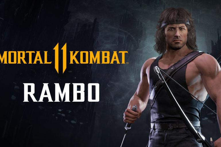Mortal Kombat 11 Ultimate Rambo Banner