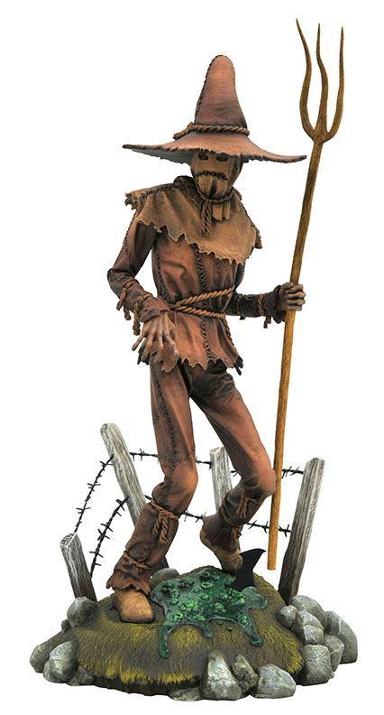 scarecrow pvc diorama