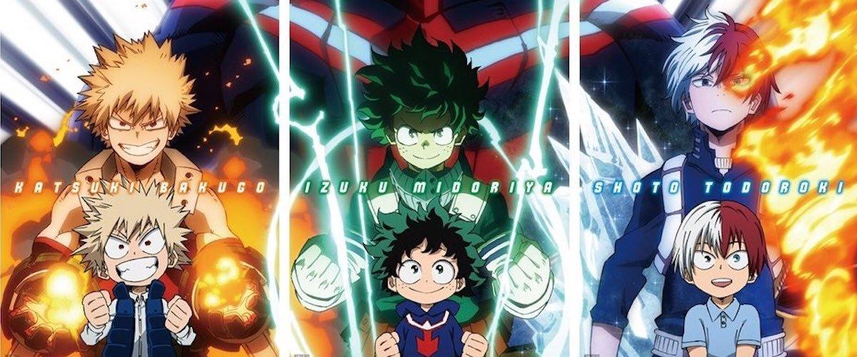 My Hero Academia - Heroes Rising - cover