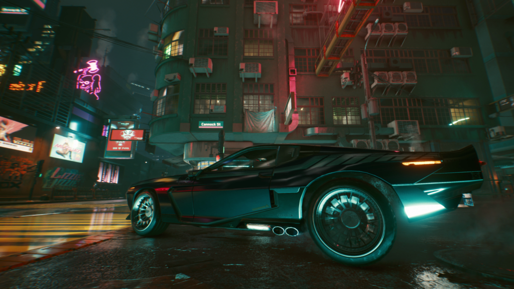 Cyberpunk 2077 - Floor It