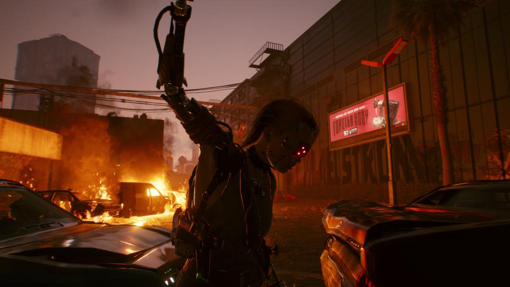 Cyberpunk 2077 - armed