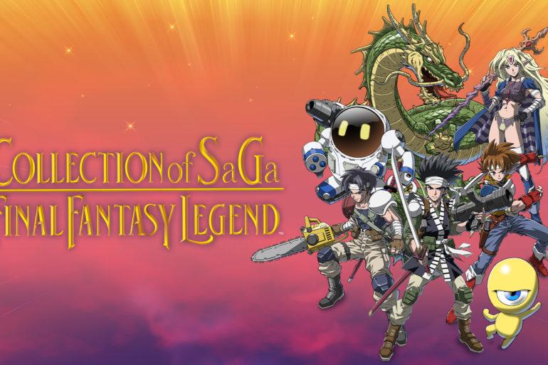 Final Fantasy Legend - logo