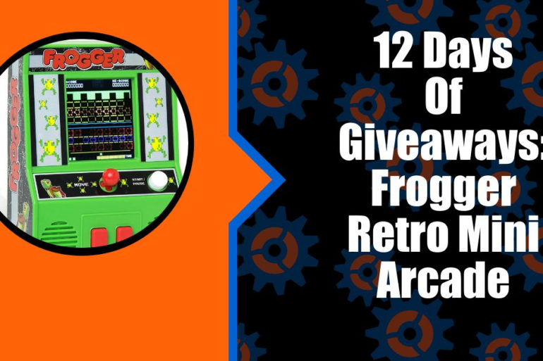 12 Days of Giveaways Frogger